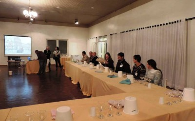 Associados da AREAVID participam de Curso de Análise Sensorial de Vinhos