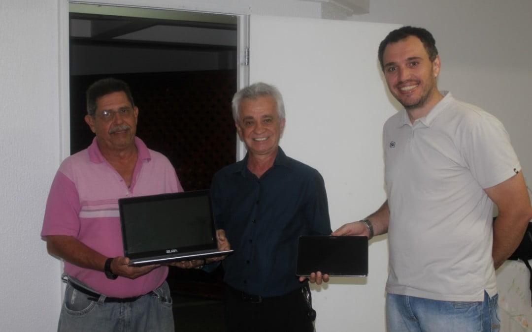 AREAVID repassa equipamentos para Inspetoria do CREA Videira