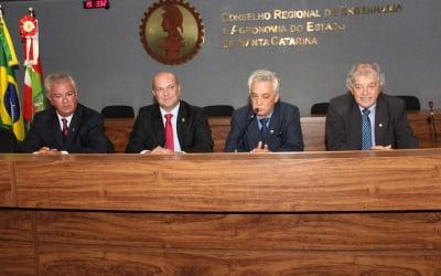 Valdir Schneider toma posse como coordenador estadual do CDER-SC