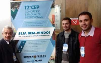 Videira terá dois engenheiros representando SC no 9º Congresso Nacional de Profissionais