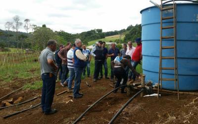 Irrigação e Fertirrigação foi tema de curso promovido pela AREAVID