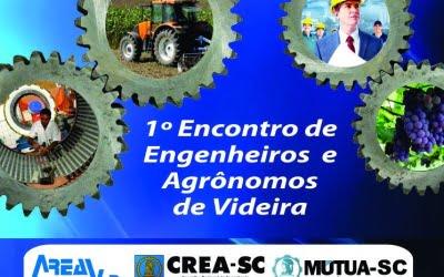 1º Encontro de Engenheiros e Agrônomos da Região de Videira acontece neste fim de semana