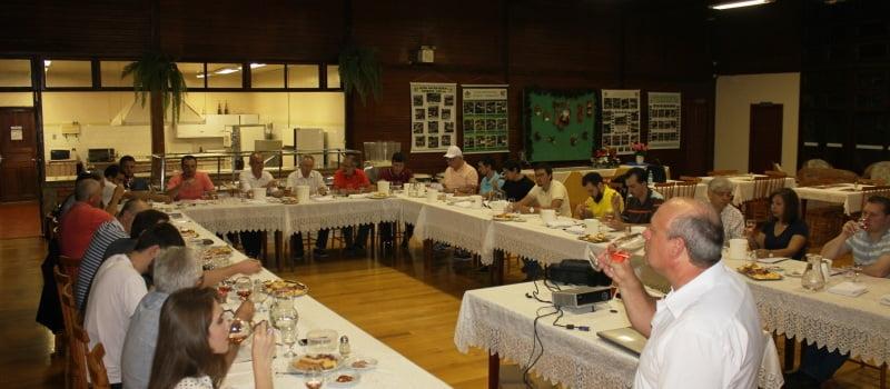 Profissionais da AREAVID e CREA participam de curso sobre técnicas e estilos de vinhos