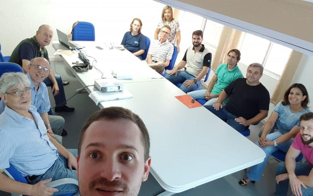 Diretoria da AREAVID se reúne para planejar ações de 2018