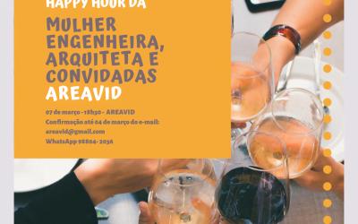 AREAVID receberá engenheiras e arquitetas para comemorar o Dia Internacional da Mulher