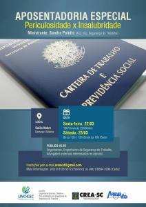 Flyer curso AREAVID-UNOESC