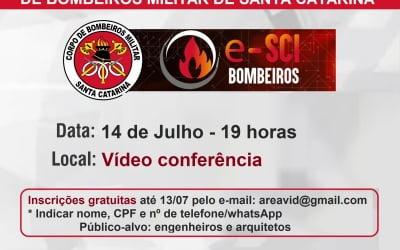 Convite vídeo conferência de apresentação do sistema e-SCI Bombeiros