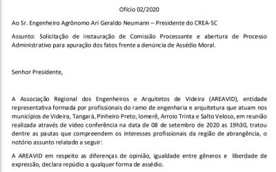 Ofício CREA-SC